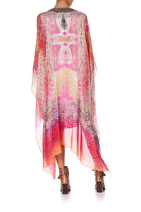 LONG SHEER OVERLAY DRESS SERPENTINE DREAMS