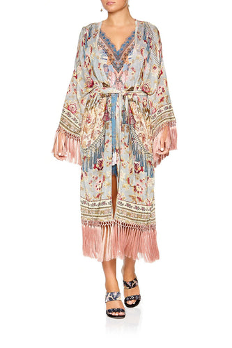 CAMILLA LONG TASSEL WRAP JEANNE QUEEN