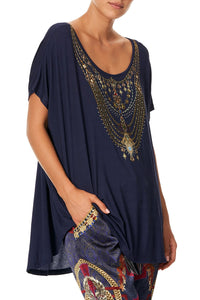 LOOSE FIT ROUND NECK TEE THIS CHARMING WOMAN