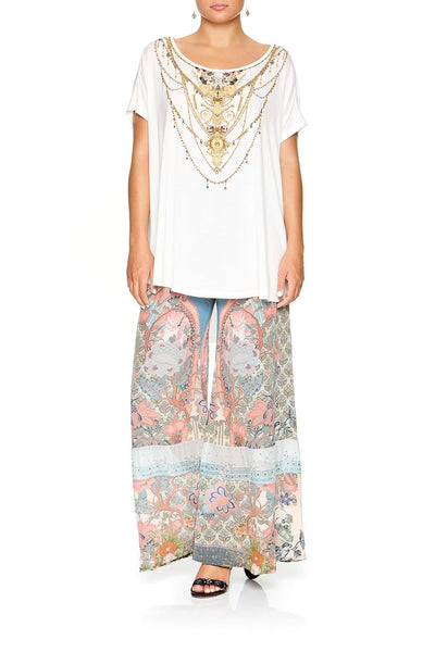 CAMILLA LOOSE FIT TEE OLYMPE ODE