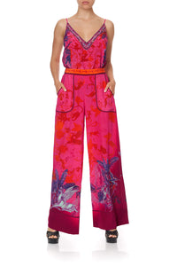 LOUNGE TROUSER WITH CUFFS TROPIC OF NEON