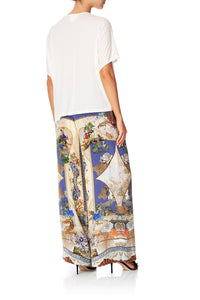 LOUNGE TROUSER WITH WAIST TIE MUSE NOVELS