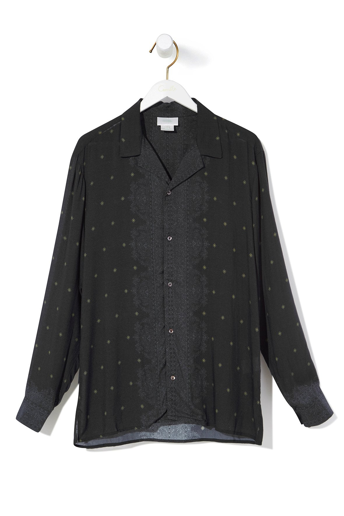 LUCKY STARS MENS LONG SLEEVE SHIRT
