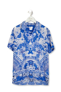 CAMILLA THE FAN SEA MENS SHORT SLV SHIRT