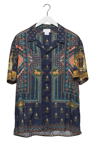 BLISS OF BOHEMIA MENS SHORT SLV SHIRT