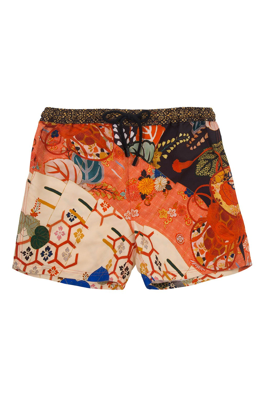 CAMILLA KISSING THE SUN MENS ELASTIC WAIST BOARDSHORT