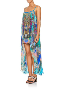 MINI DRESS WITH LONG OVERLAY FREEDOM FLIGHT