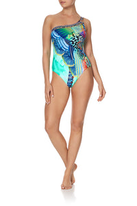 ONE SHOULDER ONE PIECE REEF WARRIOR