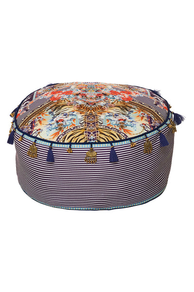 CAMILLA THE LONELY WILD OTTOMAN CUSHION