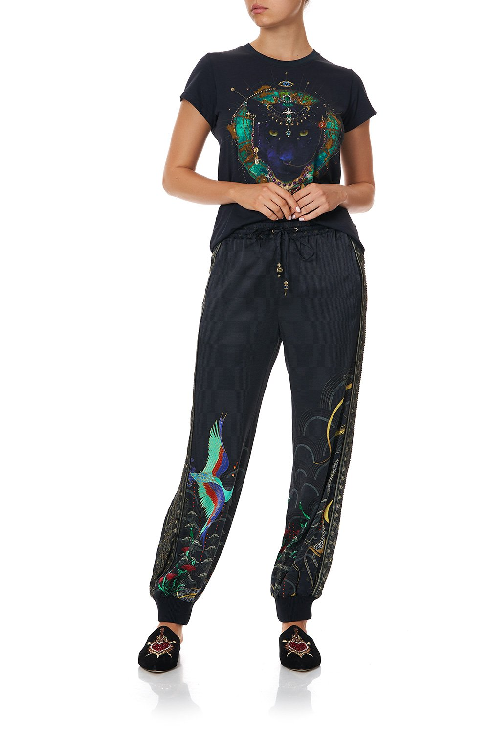 PANELLED DRAWSTRING TROUSER WISE WINGS