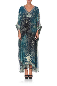 PANELLED SLEEVE KAFTAN INTO THE MYSTIQUE
