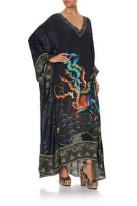 PANELLED SLEEVE KAFTAN WISE WINGS