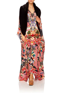 CAMILLA POSTCARDS FROM MARS SPLIT FRONT & SLEEVE KAFTAN
