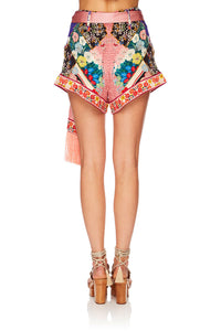 CAMILLA POSTCARDS FROM MARS TIE DETAIL HIGH CUT SHORTS
