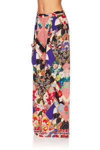 CAMILLA POSTCARDS FROM MARS WIDE LEG TROUSER W FRONT POCKETS