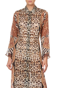 PRINTED TRENCH WILD FIRE