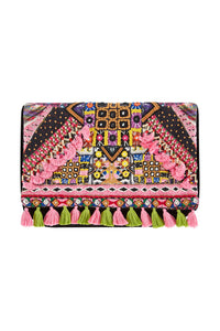 TINY DANCER EMBELLISHED CLUTCH
