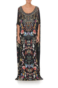 ROUND NECK KAFTAN DANCING IN THE DARK