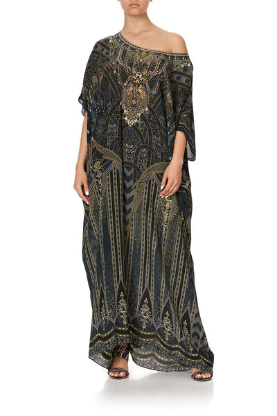 ROUND NECK KAFTAN GREAT SCOTT
