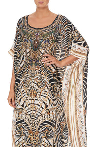 ROUND NECK KAFTAN NIGHT WAITING FOR DAY