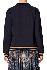 ROUND NECK SWEATER HOTEL BOHEME