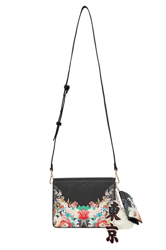 CAMILLA QUEEN OF KINGS SAFFIANO CROSS BODY BAG