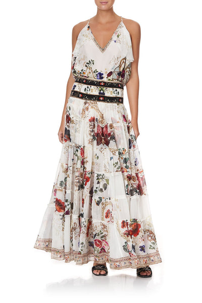SHEER TIERED MAXI SKIRT FAIRY GODMOTHER