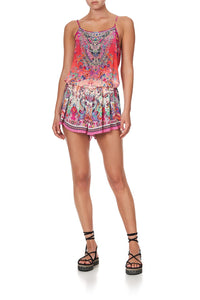 SHOESTRING STRAP PLAYSUIT FREE LOVE