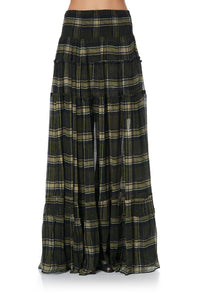 4 TIERED GATHERED SKIRT CAMPFIRE STORIES