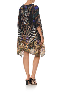 SHORT HOODED KAFTAN SHES GOT GRACE