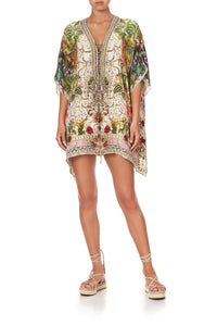 SHORT LACE UP KAFTAN FAIR VERONA