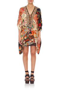 SHORT LACE UP KAFTAN KISSING THE SUN