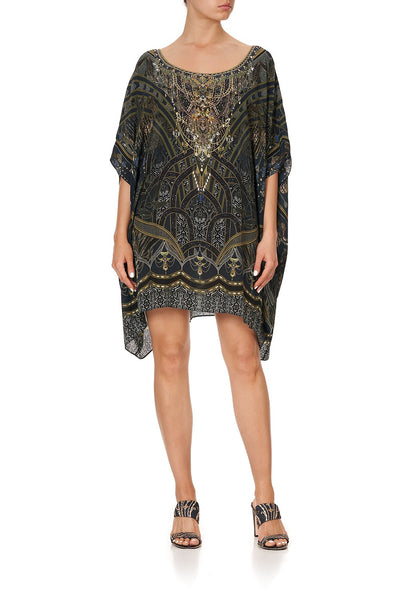 SHORT ROUND NECK KAFTAN GREAT SCOTT
