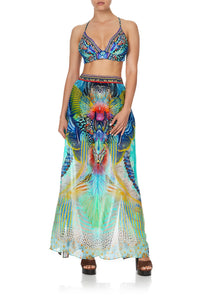 SKIRT WITH PINTUCK WAISTBAND REEF WARRIOR