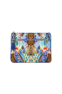 CAMILLA PACE COWGIRL SMALL CANVAS CLUTCH