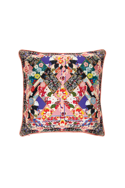 CAMILLA POSTCARDS FROM MARS SMALL SQUARE CUSHION