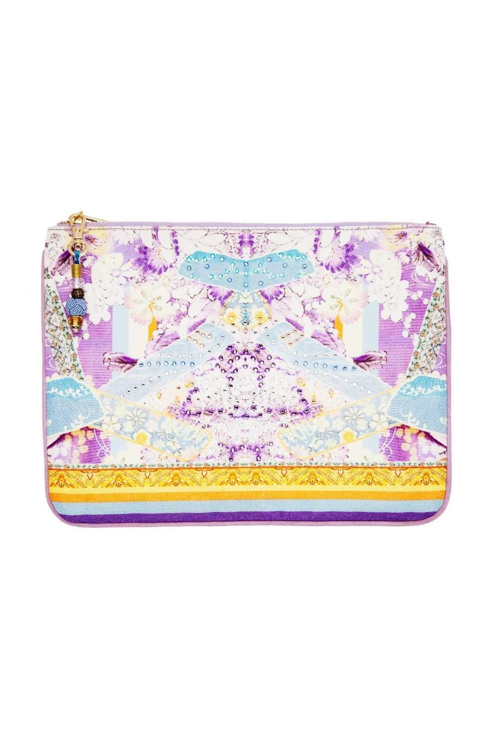 SMALL CANVAS CLUTCH GIRL IN THE KIMONO