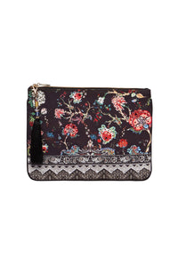 CAMILLA SMALL CANVAS CLUTCH HAUTE PROVINCIAL
