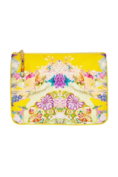 SMALL CANVAS CLUTCH MELLOW MUSE