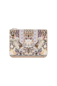 CAMILLA SMALL CANVAS CLUTCH MOTO MAIKO