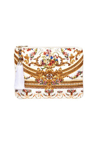 SMALL CANVAS CLUTCH OLYMPE ODE