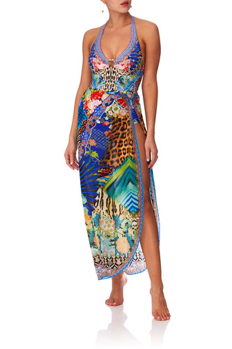 CAMILLA SPACE COWGIRL LONG U-RING SARONG
