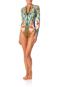 CAMILLA SPACE COWGIRL ZIP FRONT PADDLESUIT