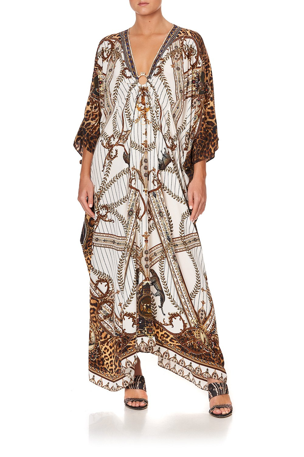 SPLIT SLEEVE KAFTAN WITH HARDWARE MIND YOUR MANOR