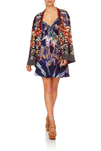 CAMILLA STAR GIRL WIDE SLEEVE BOMBER