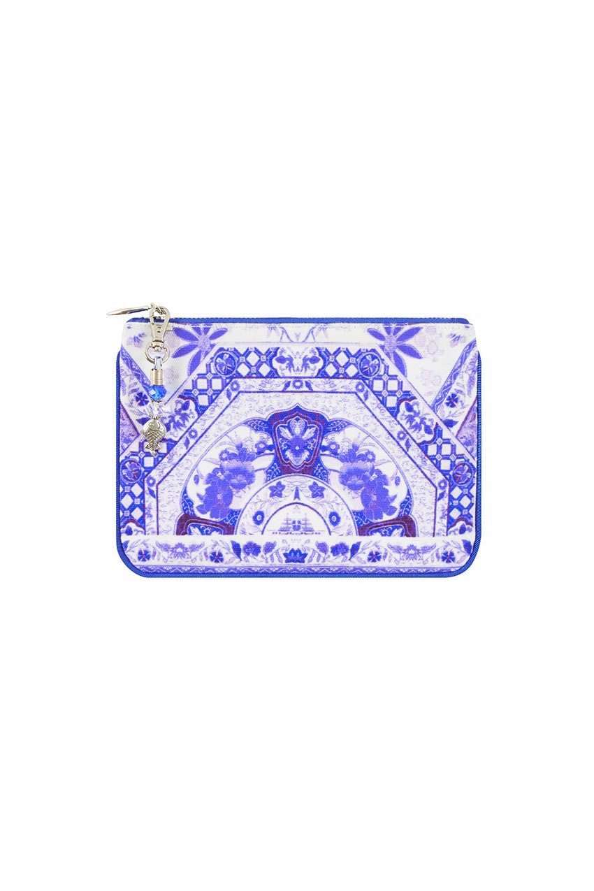 CAMILLA THE FAN SEA COIN AND PHONE PURSE