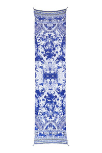 CAMILLA THE FAN SEA LONG SCARF