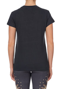 SLIM FIT ROUND NECK T-SHIRT THIS CHARMING WOMAN