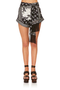 CAMILLA WILD MOONCHILD TIE DETAIL HIGH CUT SHORTS