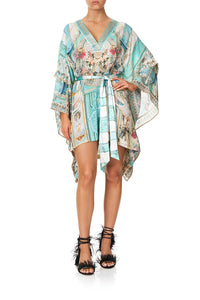 DOUBLE LAYER KIMONO SLEEVE DRESS I DREAM OF MARIE